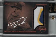 TAIJUAN WALKER 2014 Topps Dynasty Autograph Jersey Patch RC #03/10 #TW4  (B5727)