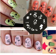 New Stamping Device Nail Art Plate LO06 snoopy