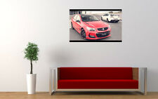2017 HOLDEN COMMODORE MOTORSPORT LTD LARGE ART PRINT POSTER PICTURE WALL