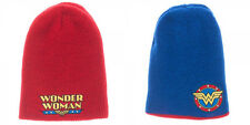 DC Comics Wonder Woman Reversible Slouch Hat Cap Beanie Cosplay