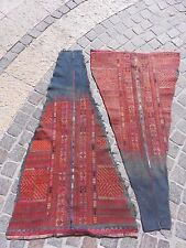 PALESTINIAN PALESTINE EMBROIDERY DRESS ANTIQUE TRADITIONAL ARABIC FABRIC #