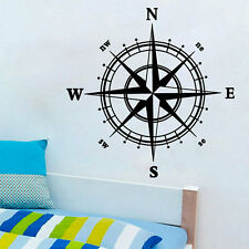 Removable Compass Vinyl Wall Stickers Decal  Art Decor Bedroom Livingroom CC