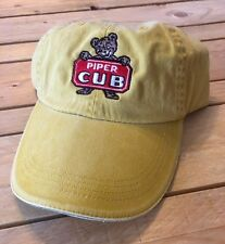 Yellow PIPER CUB  cap FREE SHIPPING