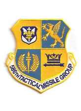 USAF Patch 586th TACTICAL MISSILE GROUP - Reunion