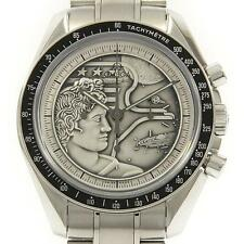 Authentic OMEGA Speedmaster Professional Apollo 17 40TH LIMITED Manual windin...