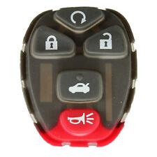 Remote Key 5 Buttons Rubber Pad For Chevrolet GM Buick Fob Rplacement Repair