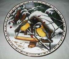 Langenthal porcelana-kohlmeisen en invierno bosque-Willy tschudin