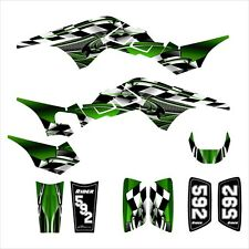 TRX250R Graphics TRX 250R 250 R decal sticker kit NO2500 Green
