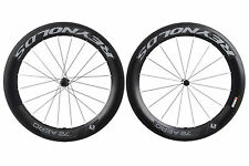 Reynolds 72 Aero Road Bike Wheel Set 700c Carbon Clincher Shimano 11 Speed