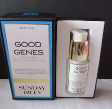 NEW IN BOX SUNDAY RILEY GOOD GENES ALL-IN-ONE LACTIC ACID TREATMENT 1 OZ / 30 ML
