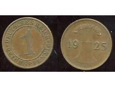ALLEMAGNE 1 reichspfennig 1925 A