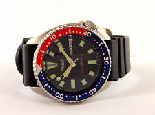 Seiko 6309-729A PEPSI Divers Watch Men Vintage 70's 150M Automatic S/S #0607