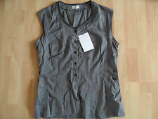 DRIES VAN NOTEN schöne Bluse grau Gr. 38 ? TOP  BB1014