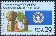 USA 1993 Northern Mariana Islands/Latte Stones/Carving/Palm Tree 1v (n44364)
