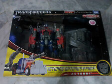 Transformers DOTM Leader Class Jetwing Optimus Prime DA-15 Takara MIB