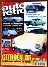 AUTO RETRO n°223; Dossier Citroen DS Cabriolet/ Les Auto de la cour d'Angleterre