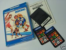 Intellivision Boxing Complete White INTV III Intellivision Video Game System