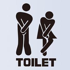 Lustige Toilet Door Sign Sticker Aufkleber Door Decal Bathroom Door Deko Neu Typ