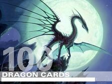 MTG Dragon Lot 100 RARE / FOIL Cards - Magic Lot Set Collection EDH Deck Tribal