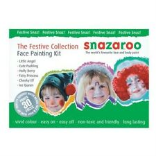 Snazaroo Christmas Xmas Fancy Dress Face Paint Make Up Kit Set P5580