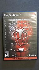 PlayStation 2 SPIDERMAN 3 Special Edition Video Game / Case / Instructions PS2