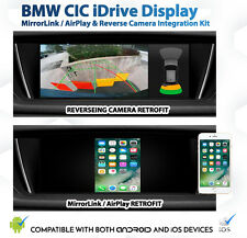 BMW E60 CIC 5 Series MirrorLink CarPlay AirPlay GPS Reverse Camera retrofit Kit