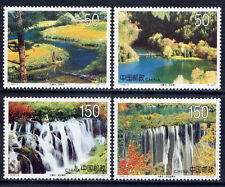 China  1998-6 Jiuzhaigou Valley set of 4 MNH