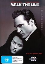 Walk the Line (Definitive Edition) * NEW DVD *