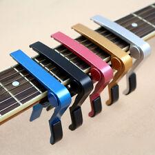 Kapodaster Capodaster Kapo Capo Elektro Akustik für Gitarre Guitar Clamp Neu