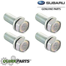 Subaru Disc Brake Caliper Bracket Mount Bolt SET 4 Impreza WRX STi OEM 901130011