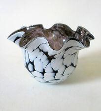Glas Schale Amie Stalkrantz Lindqvist Mantorp Sweden 10cm fazzoletto glass bowl