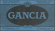 Y9792 Spumanti GANCIA - Canelli - Pubblicità d'epoca - 1924 Old advertising
