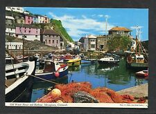 C1970's View of the Old Watch House & Harbour, Mevagissey, Cornwall.
