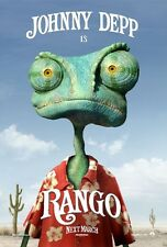 POSTER RANGO JOHNNY DEPP GORE VERBINSKI ANIMATION 3D #1