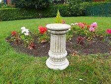 Fancy COLONNA pietra Basamento Decorazione Giardino Arredamento antico fatto a mano regalo su misura