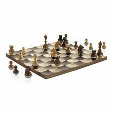 Umbra U+ Wobble Chess Set in Walnut