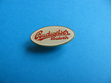BUDWEISER Budvar Oval pin badge. VGC. Unused. Czech. Bud.