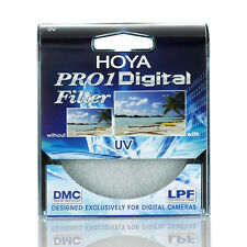 Original Hoya 52mm Pro 1 Digital Uv Camara Lente Filtro Pro1D Uv (o) Para Dslr