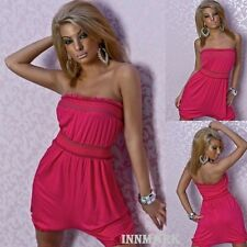 013 SEXY SUMMER COTTON MINI DRESS - OVERALL - BEACH COSTUME PINK ONLINE INNMARK