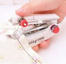 New Mini Stitch Portable Manual Thread Craft Sewing Machine Home Travel Clothes