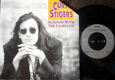 "CURTIS STIGERS, SLEEPING WITH THE LIGHTS ON /PEOPLE LIKE US-Arista 7"" PS-EX"