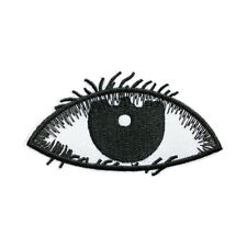 Black Eye Patch Embroidered Punk Iron On Sew On Patches