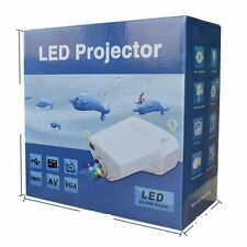 MINI Projector LED for TV,DVD,PC with SD,USB,AV In VGA,HDMI,TV