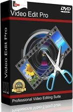 Professional Video Editing Studio PC Mac Software Program. Pro Film Cut MP4 AVI