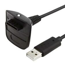USB Receiver Charger Cable For Microsoft Xbox 360 Wireless Controller Gamepad DH