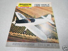 AVIATION MAGAZINE N° 453 1966 Hovercraft Effort Spatial Soviétique URSS Voltige*