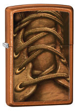 Zippo Toffee Boot Laces, Military, Work, Windproof Lighter 28672 New