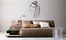 Wall Mural Vinyl Decal Sticker Beautiful Fashion Hair Salon Spa Girl Face AL752