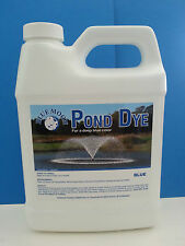 BLUE POND DYE 16oz.TREATS 300,000GAL.GREAT FOR KOI POND DILUTED