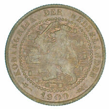 Netherlands - 1 Cent - 1900 - AUNC